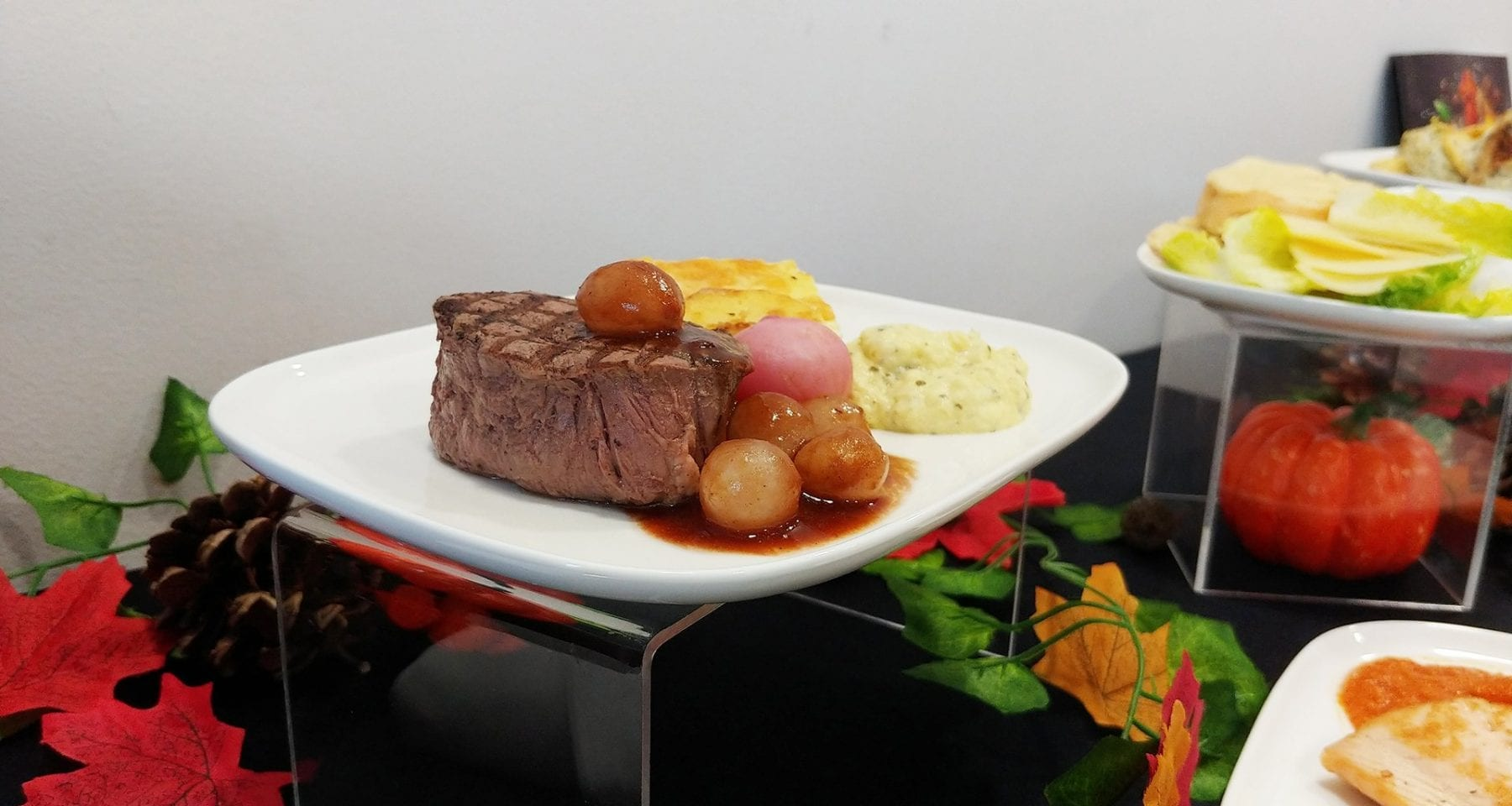 Delta one inflight steak