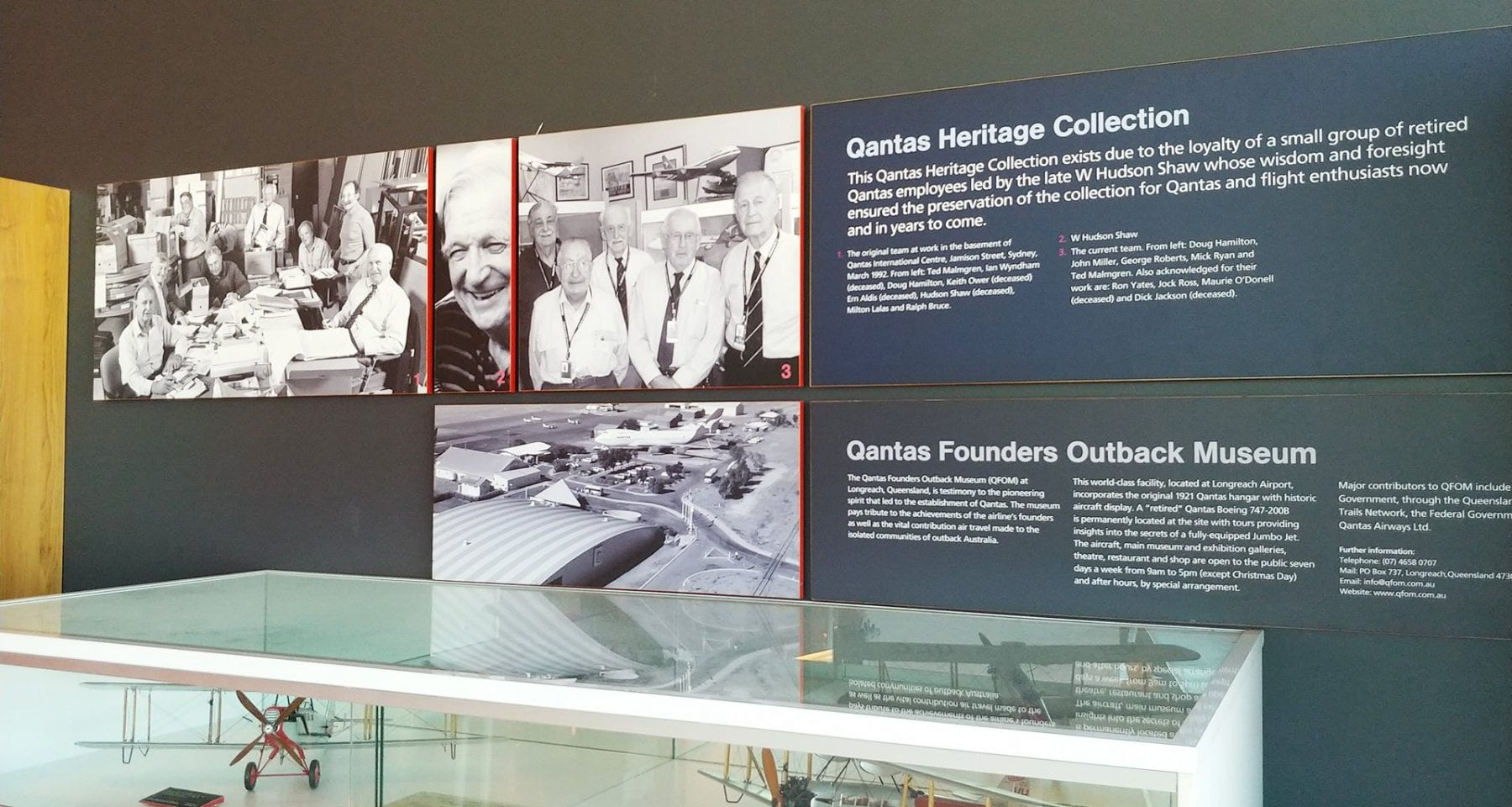 Qantas Heritage Collection Sydney Airport