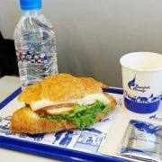 Bangkok Airways economy class meal Bangkok to Phuket