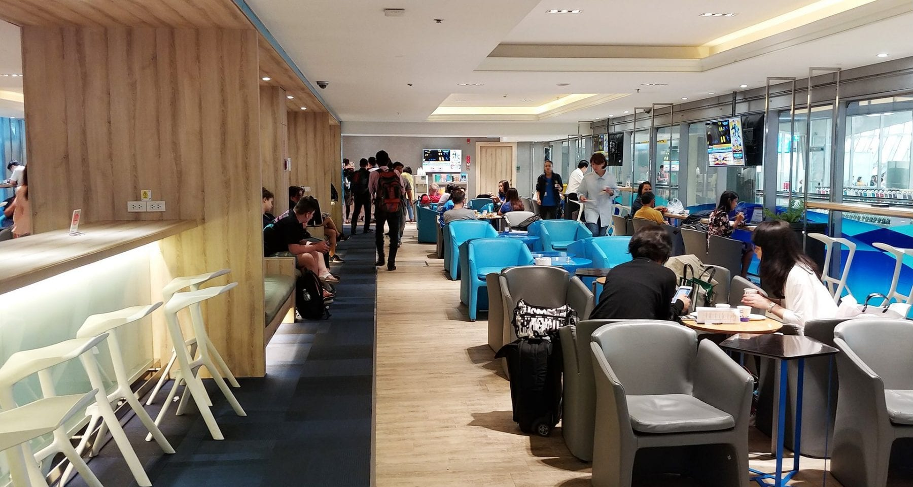 bangkok airways domestic lounge