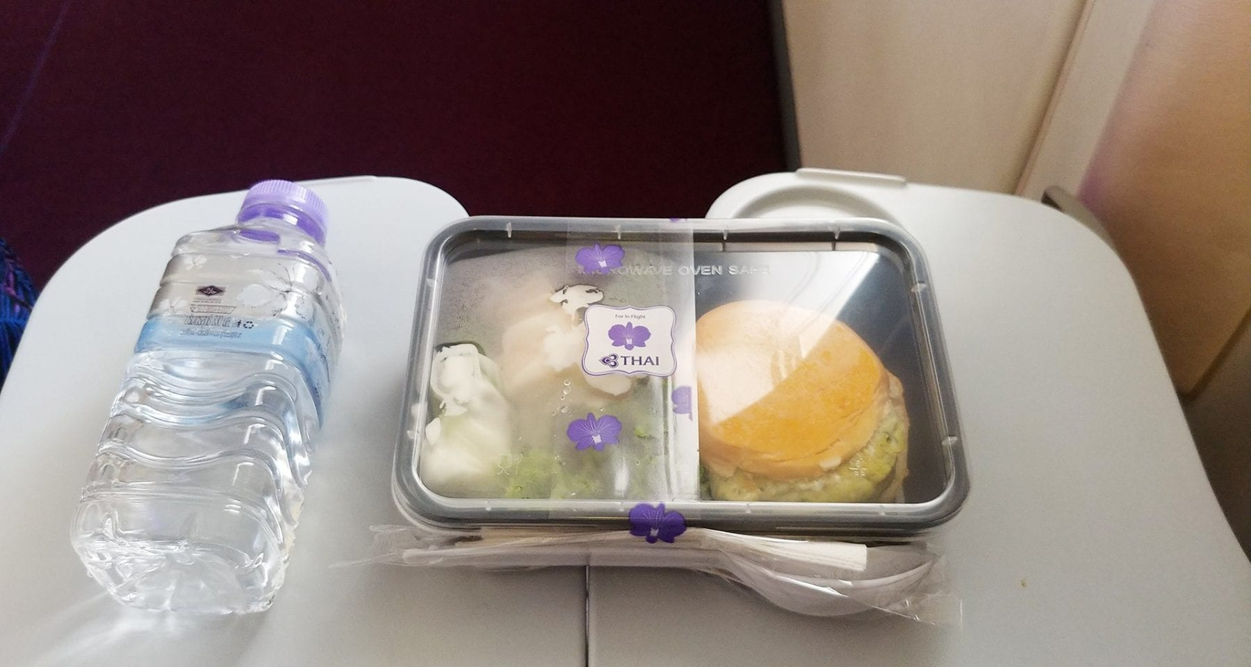 thai airways economy class meal phuket to bangkok