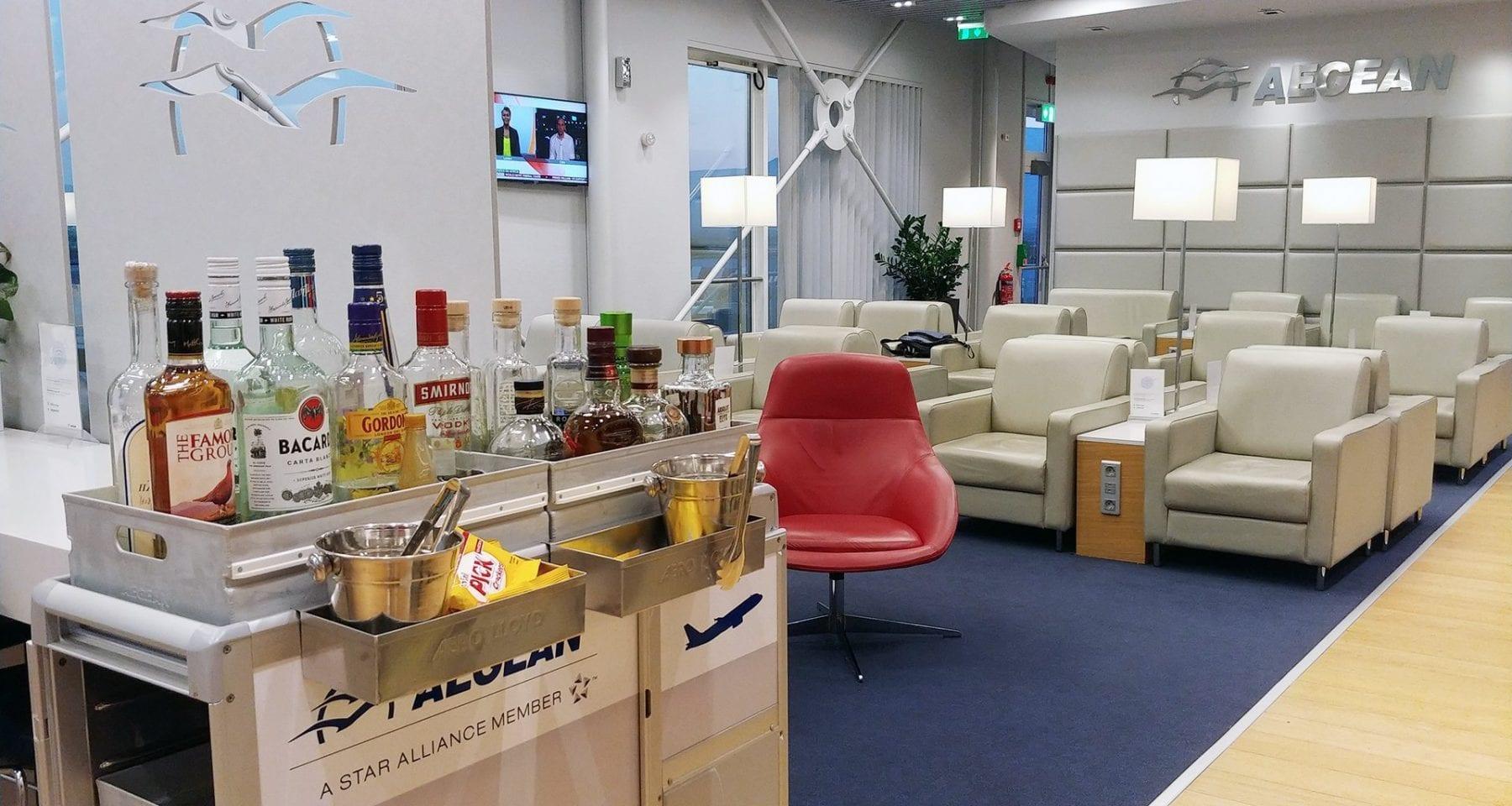 Aegean Airlines Non Schengen Lounge