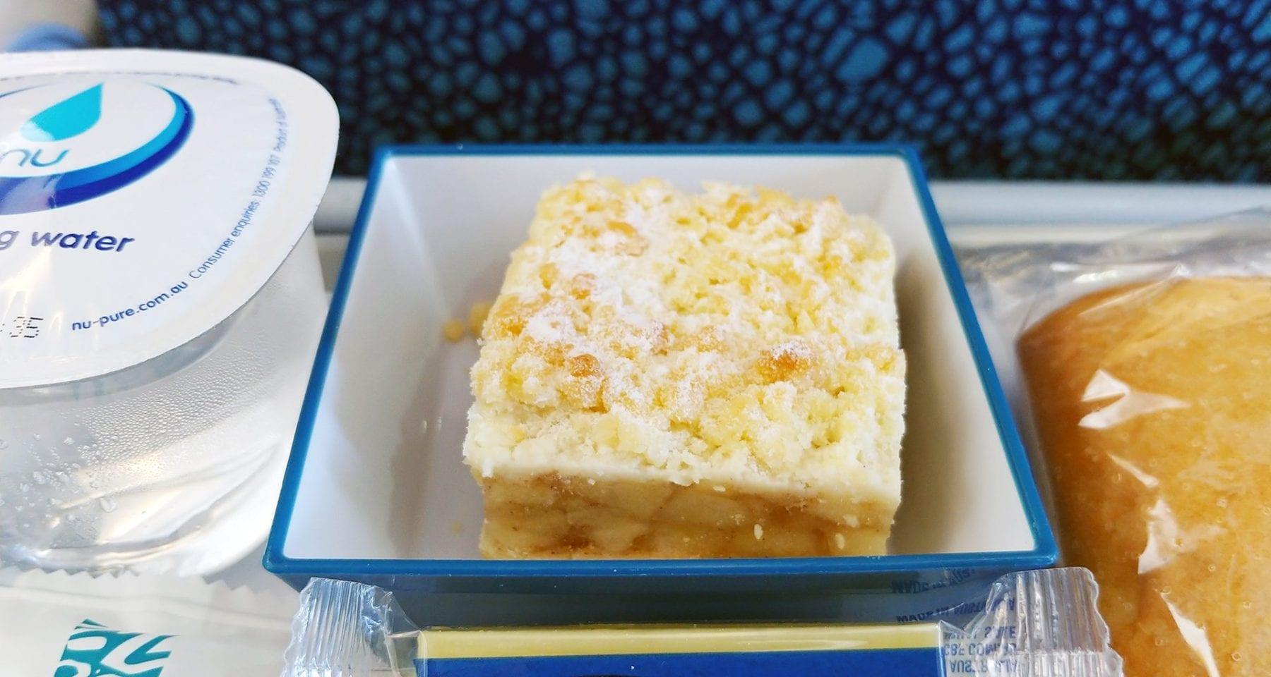 Air Calin Inflight dessert Economy Class
