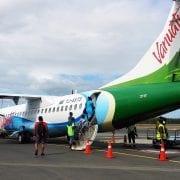 Air Vanuatu ATR aircraft Noumea Airport