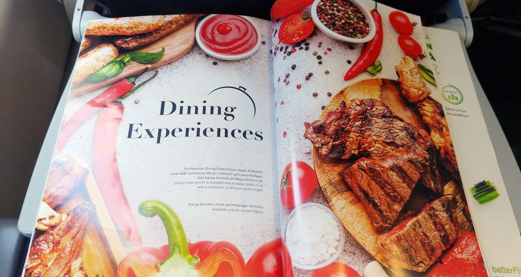 citilink dining experiences