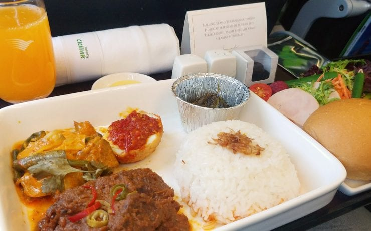 citilink dining experiences meal