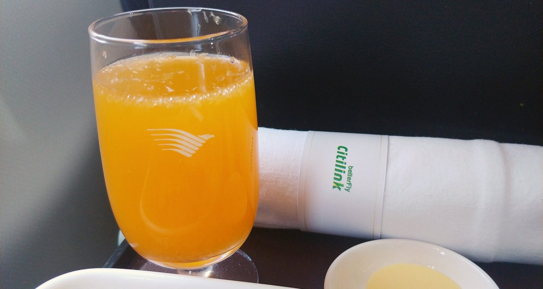 Citilink inflight drinks