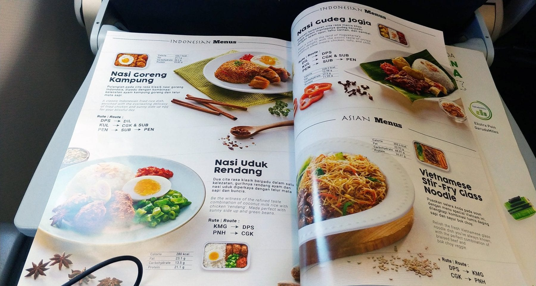 citilink inflight menu
