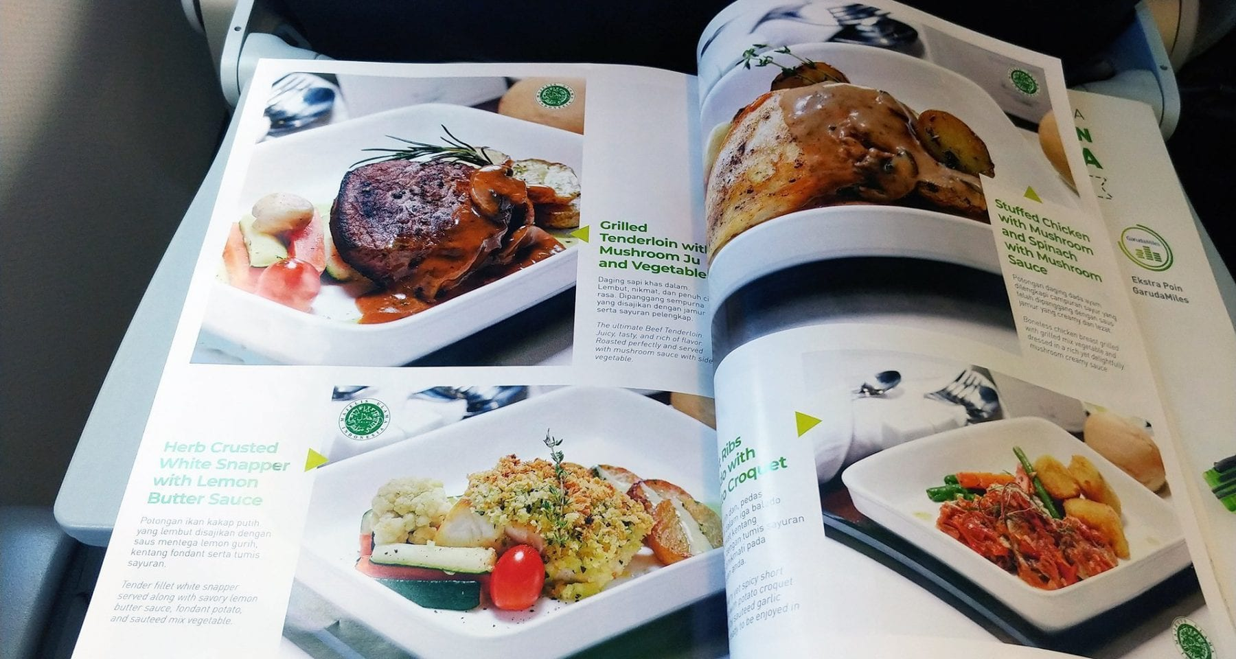 Citilink pre order meal economy class