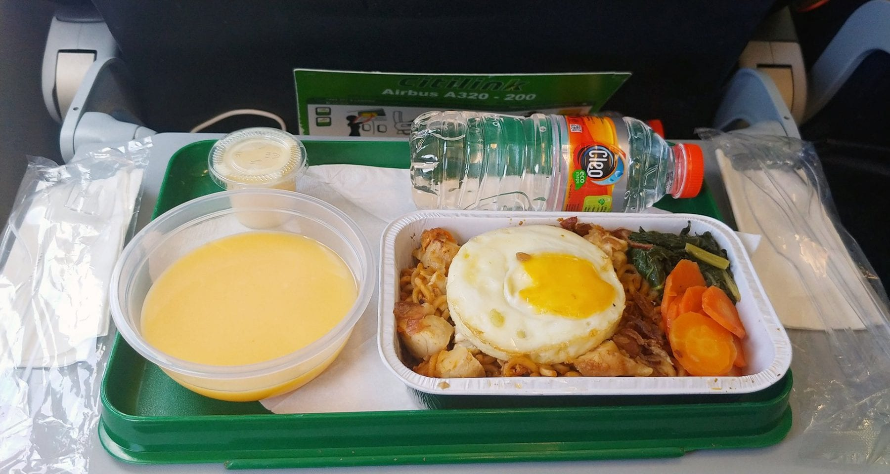 citilink pre order meal