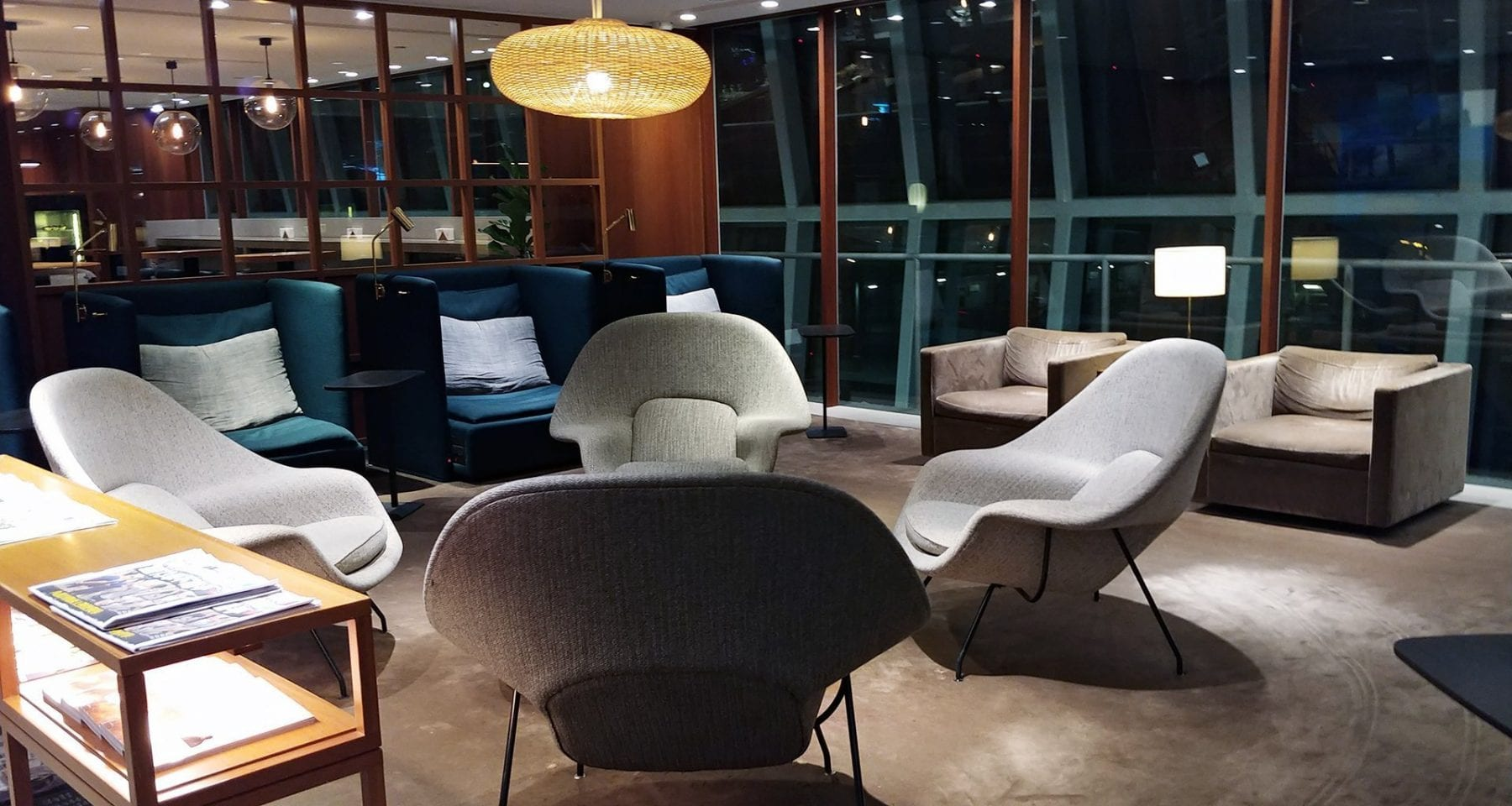 Cathay Pacific Lounge Bangkok Airport