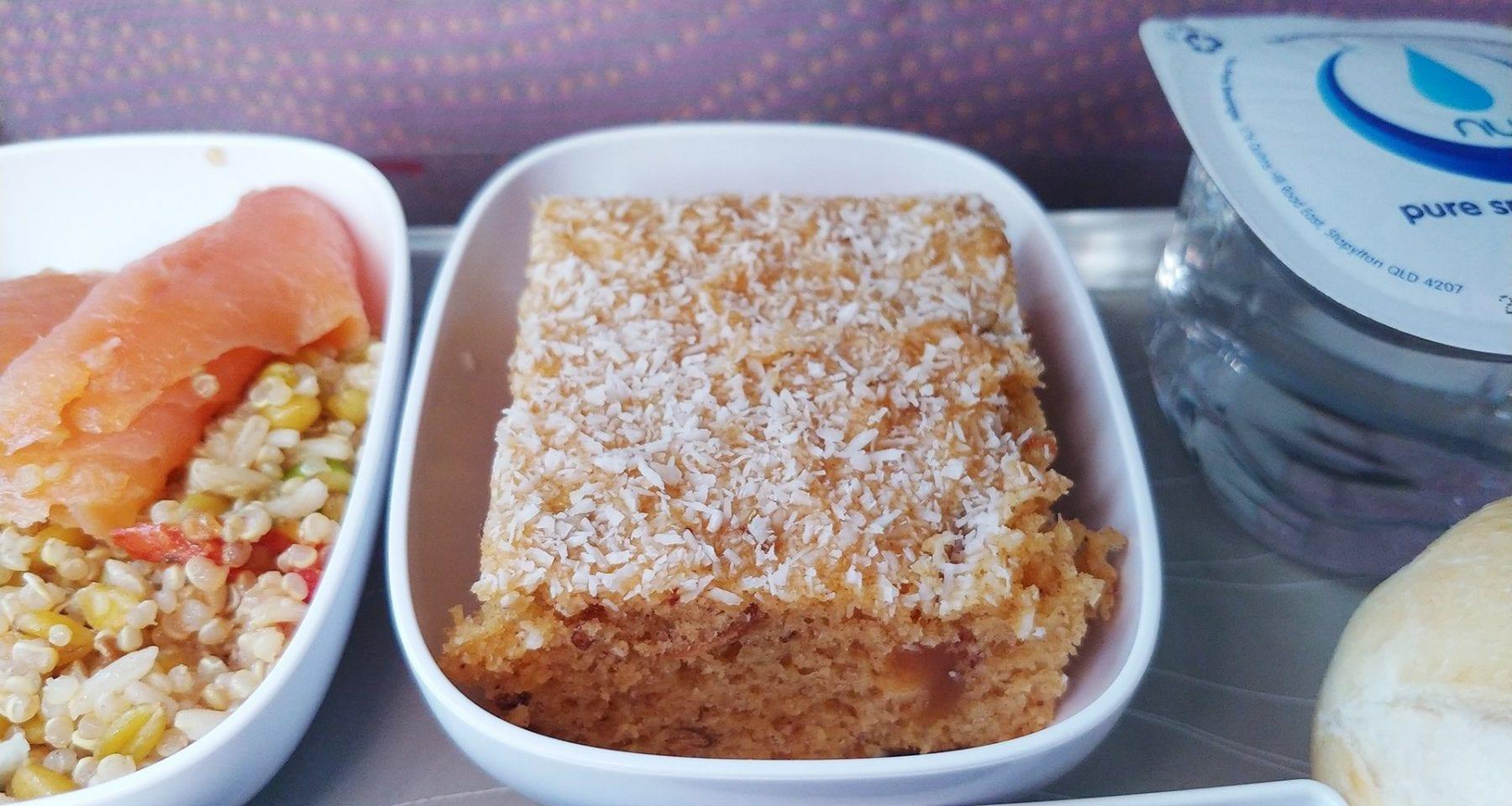 Emirates economy class dessert