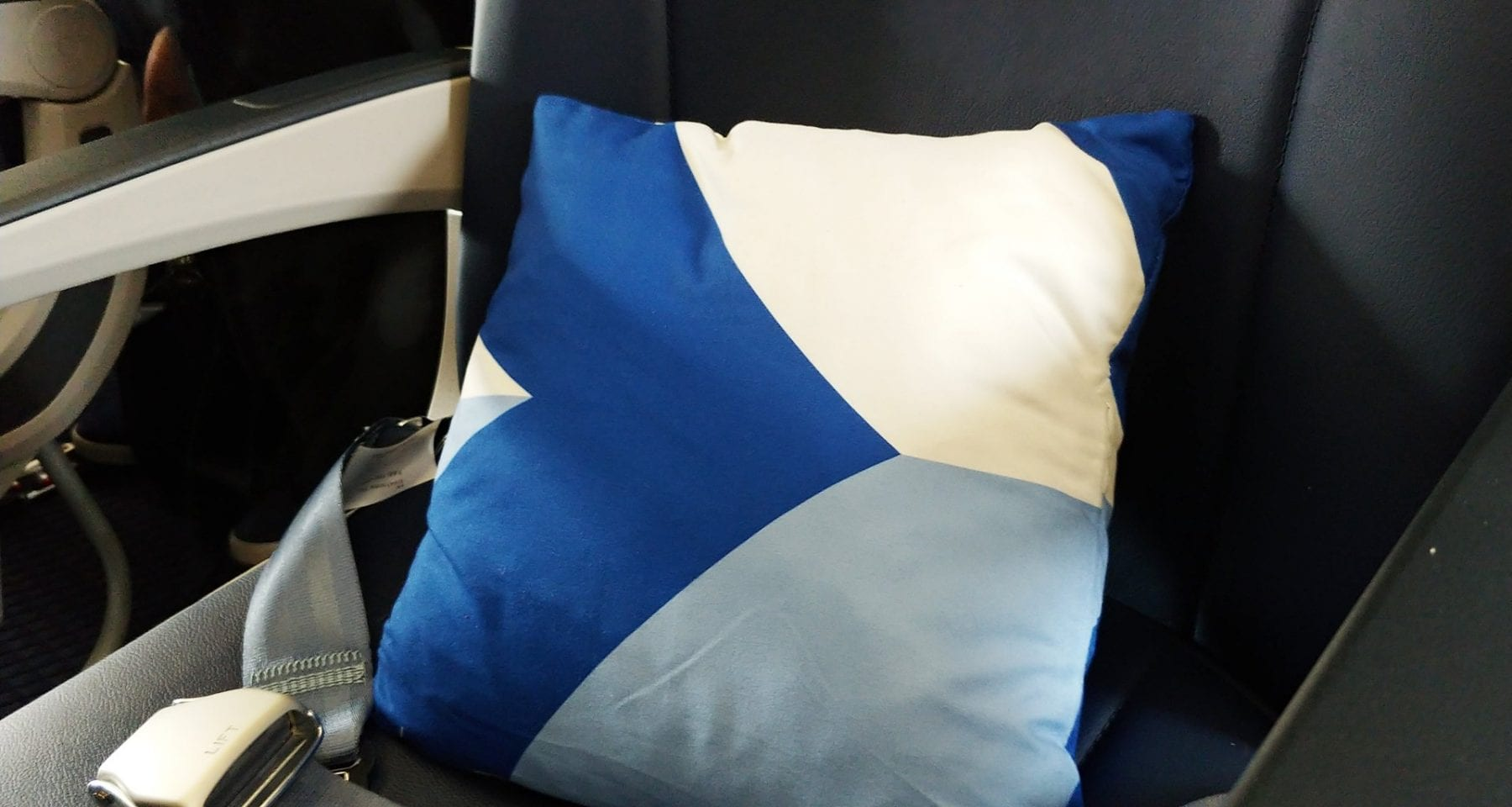 Aegean Airlines new pillow business class