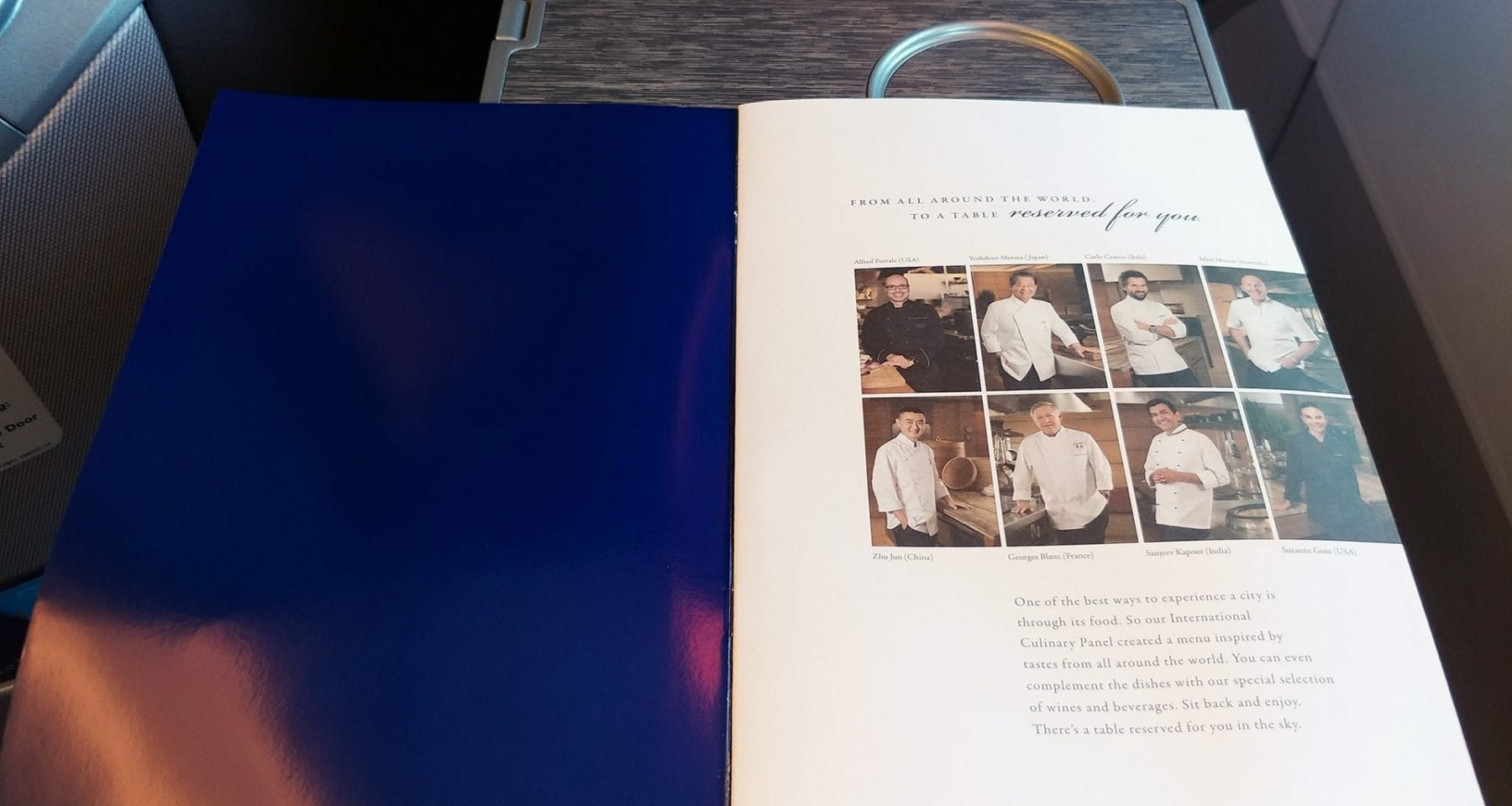 Singapore Airlines Inflight Chefs