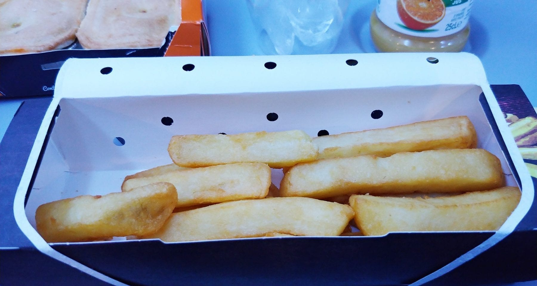 Thomson/TUI inflight meal chips