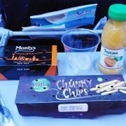 Thomson/TUI inflight meals economy class short haul