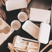 hk express sustainable inflight packaging