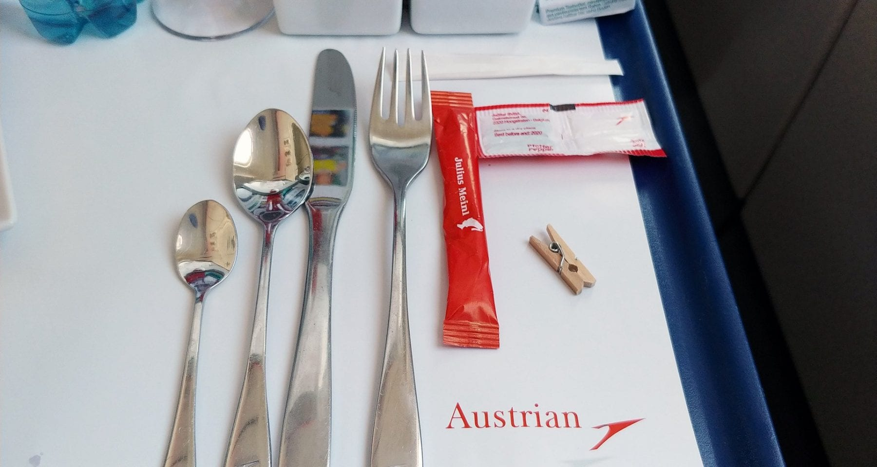 austrian airlines cutlery