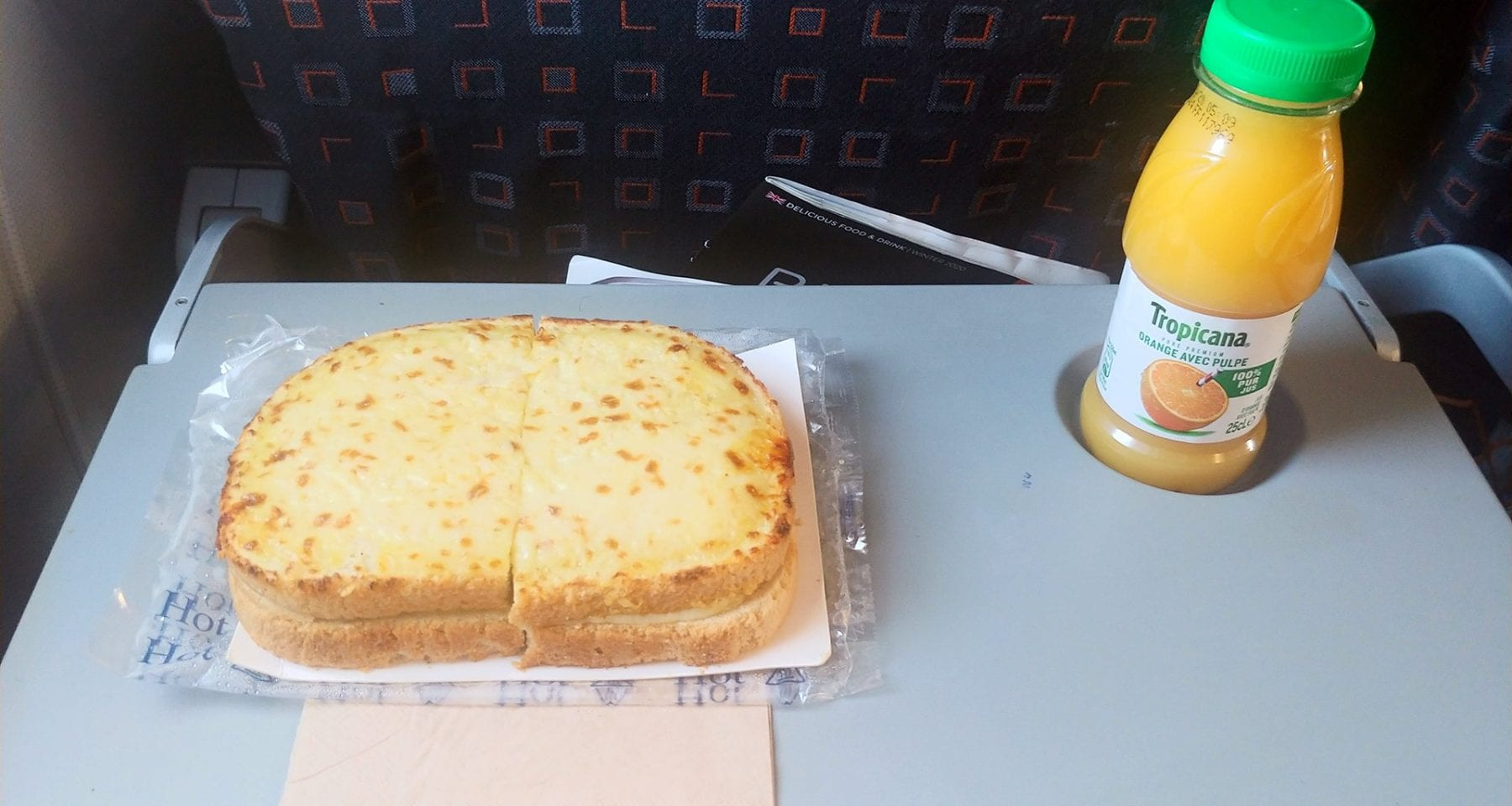 easy jet meal