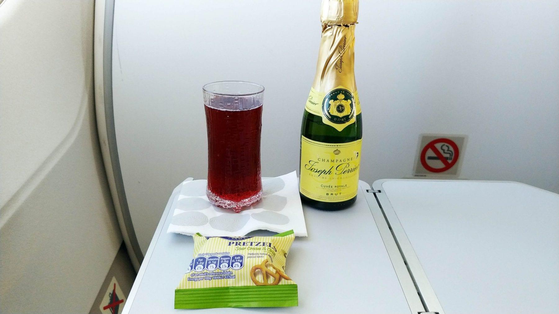 finnair champagne