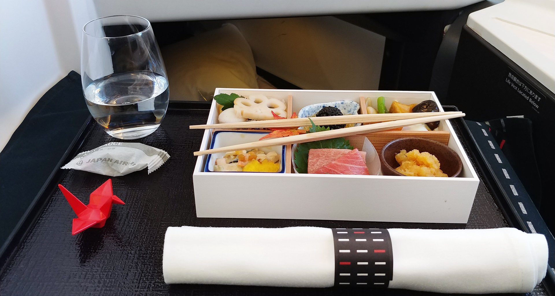 japan airlines bento box