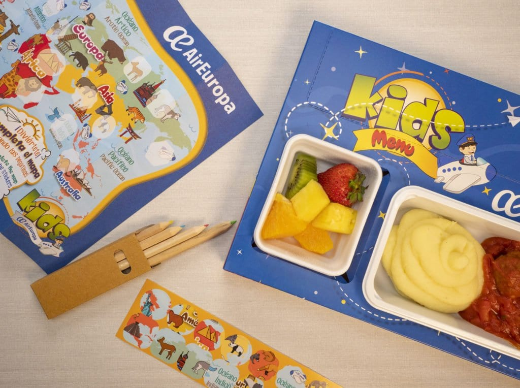 air europa kids meal