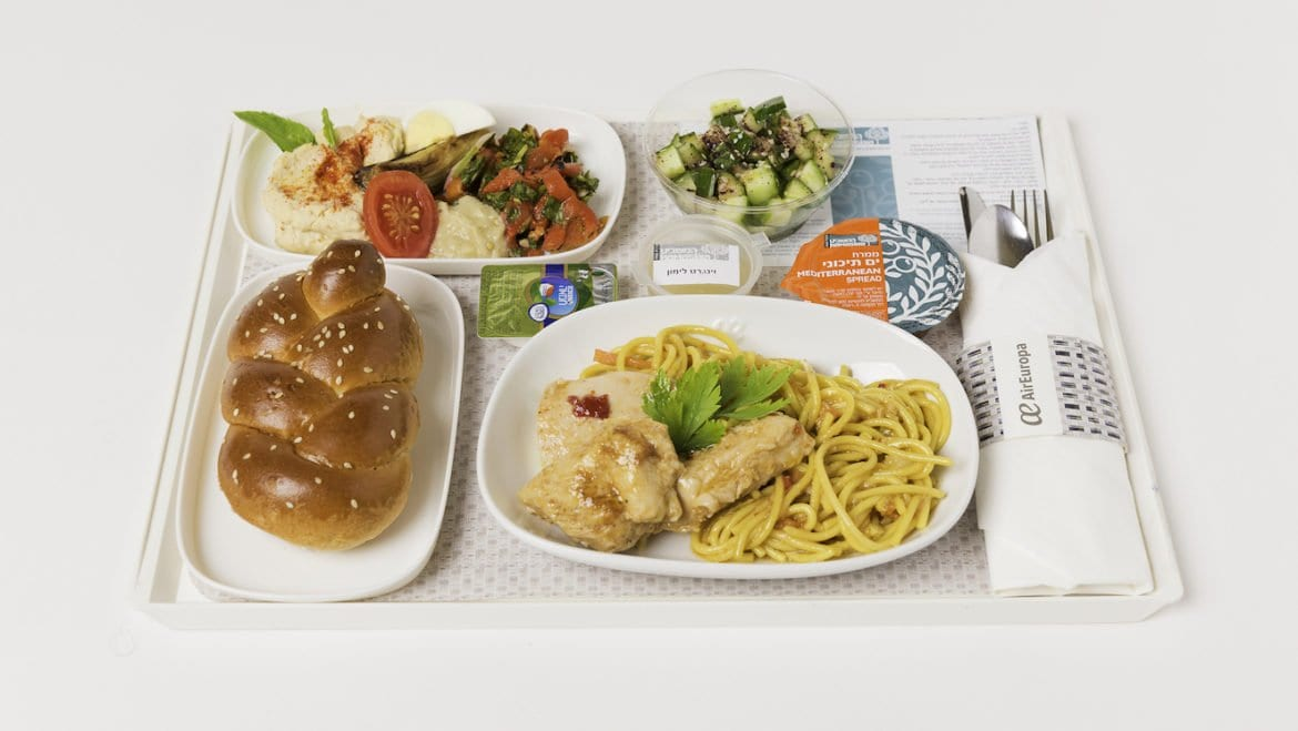 air europa kosher meal