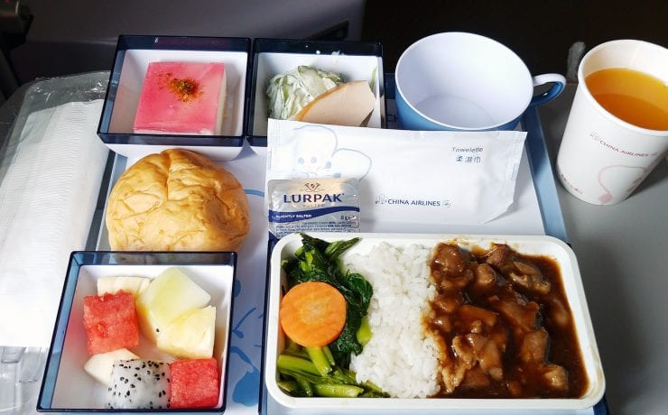 china airlines meal economy class