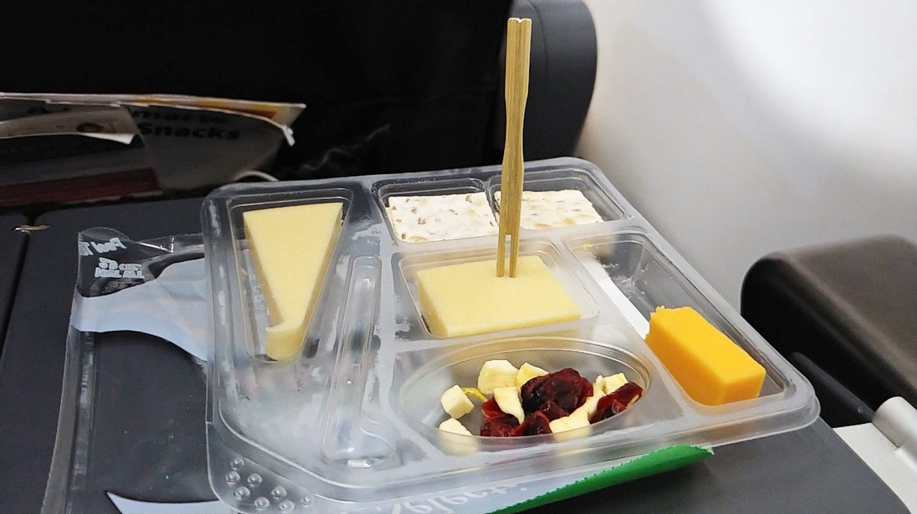 spirit airlines cheese board