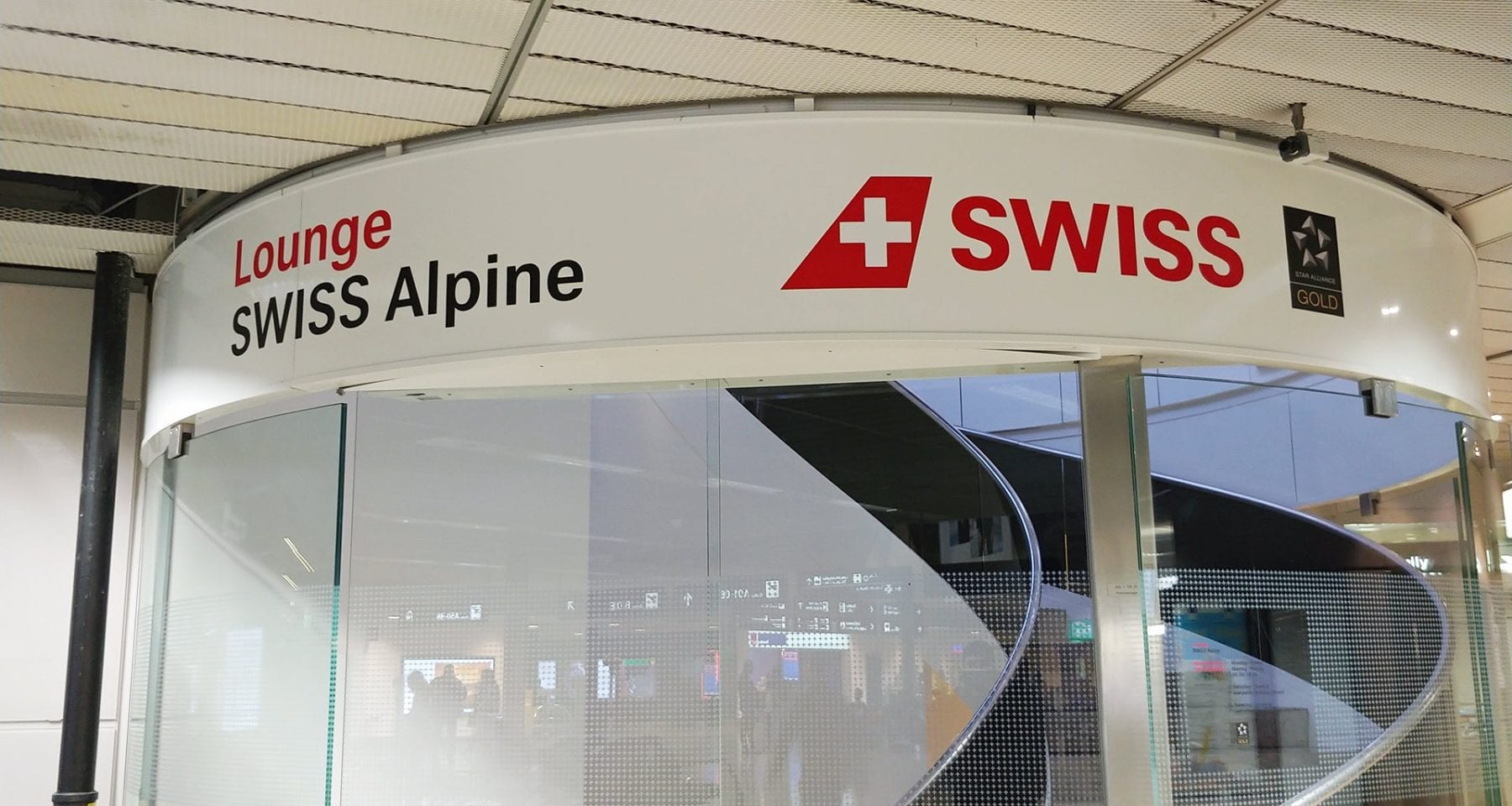 swiss alpine loung entrance