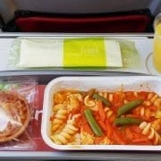 tap economy class meal
