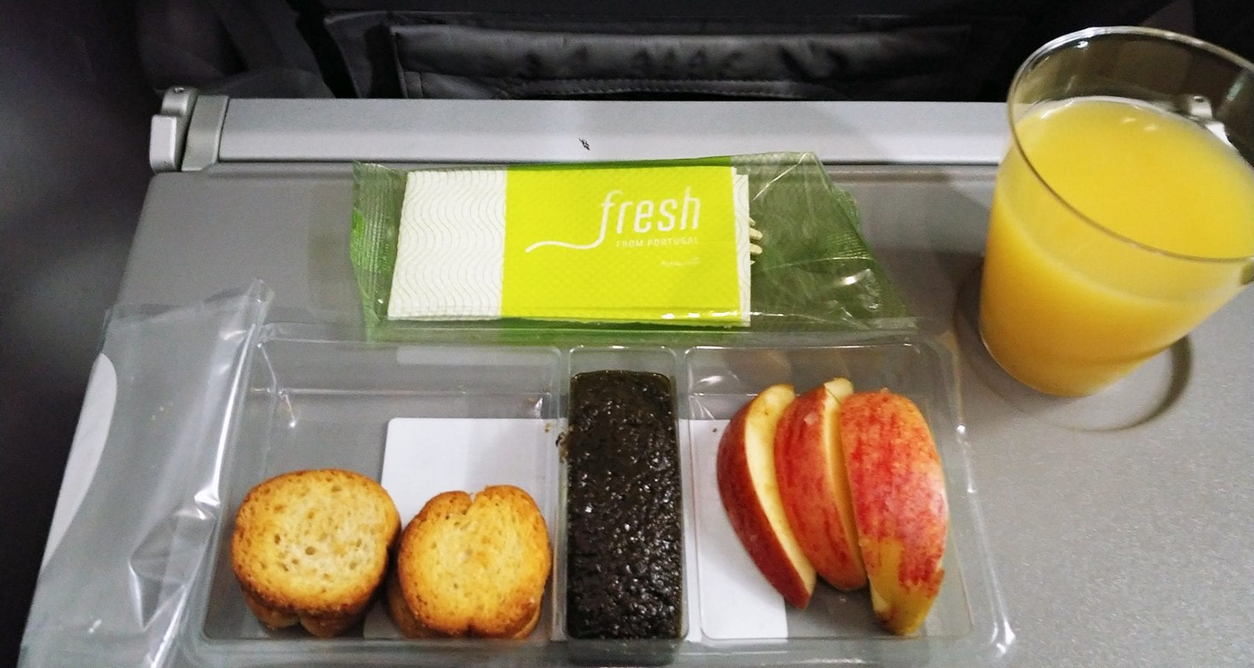 tap portugal inflight snack