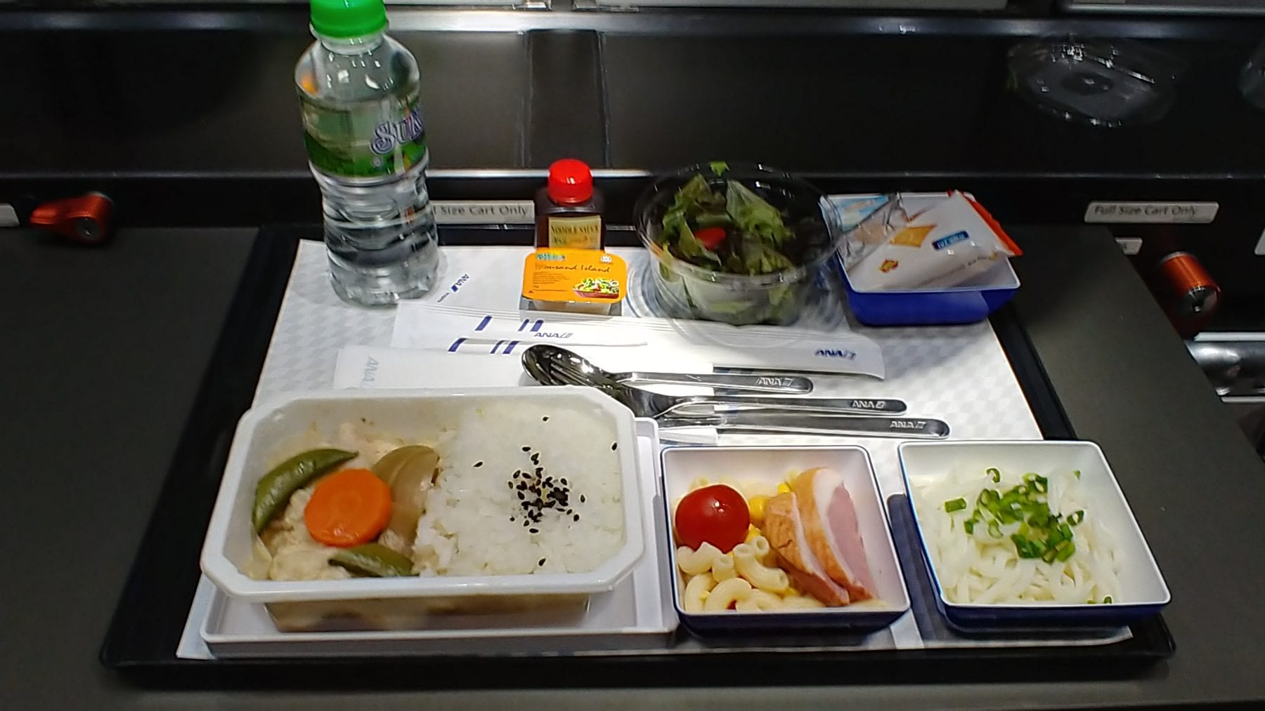 ana economy class meal
